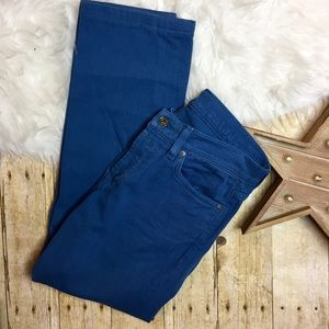 7 For All Mankind Standard Straight Leg Jean SHORT